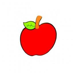 Ahşap Elma Figürü
