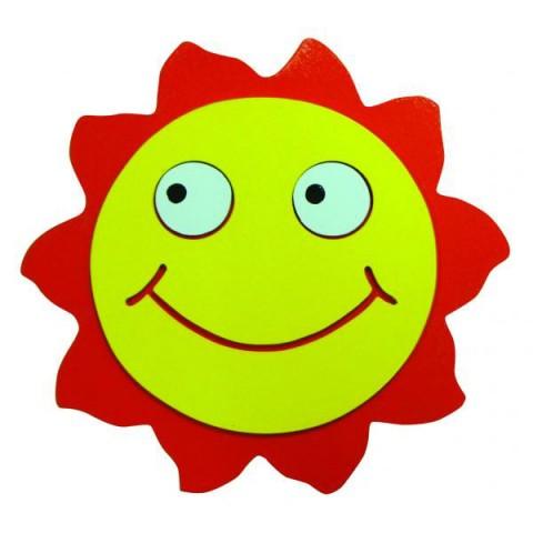 Ahşap Şirin Güneş Figürü