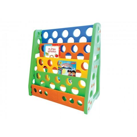 Plastik Renkli Kitaplık