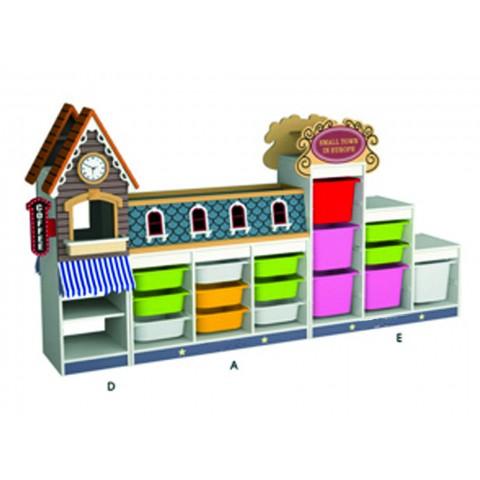 Alışveriş Sokağı Durağı Seti 1
