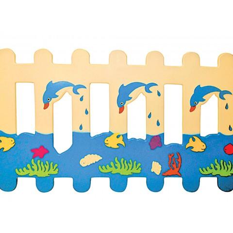 Okyanus Figürlü Çit