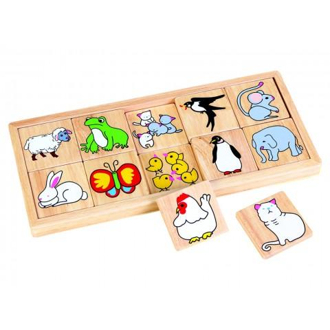 Yavrusunu Bul Puzzle