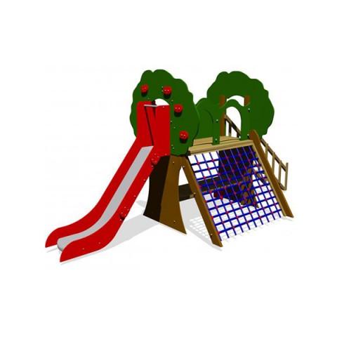Ahşap Elma Ağacı Oyun Parkı