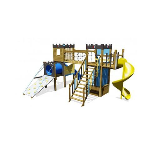 Ahşap Kale Oyun Parkı
