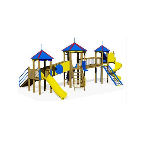 Ahşap Üç Kule Oyun Parkı