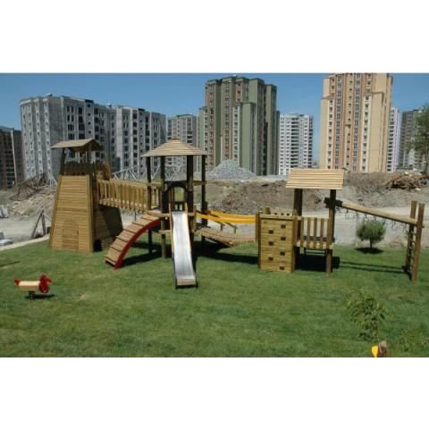 Ahşap Papatya Oyun Parkı