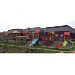 Ahşap Altı Kuleli Oyun Parkı