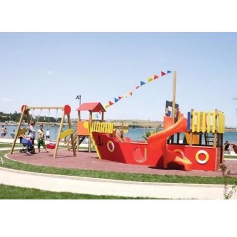 Ahşap Gemi Oyun Parkı