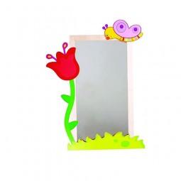 Çiçek Figürlü Boy Aynası