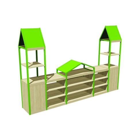 Çatılı Modüler Sınıf Dolabı