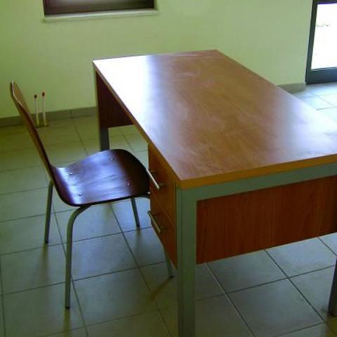 Metal Öğretmen Masası
