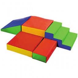 5 Parça Soft Blok Seti